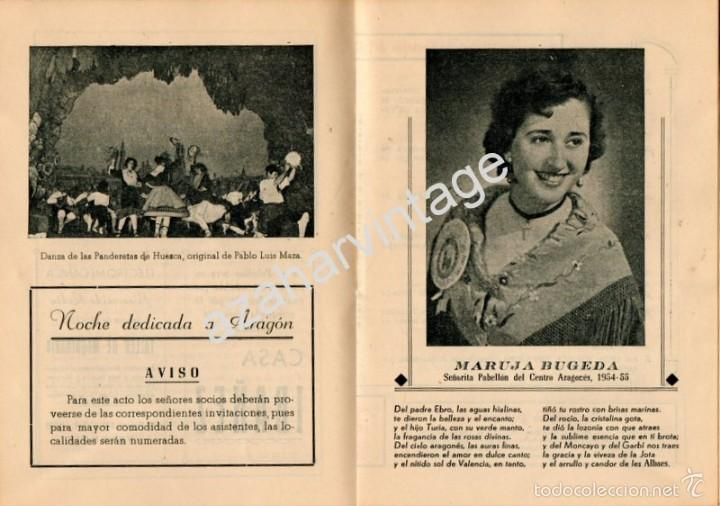 Folletos de turismo: PROGRAMA OFICIAL - VALENCIA - GRAN FERIA DE JULIO - AÑO 1955, 30 PAGINAS - Foto 3 - 58499869