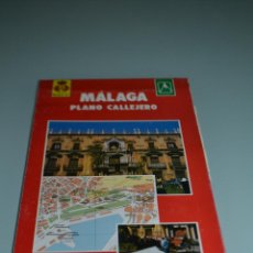 Folletos de turismo: PLANO CALLEJERO MALAGA . Lote 58550135