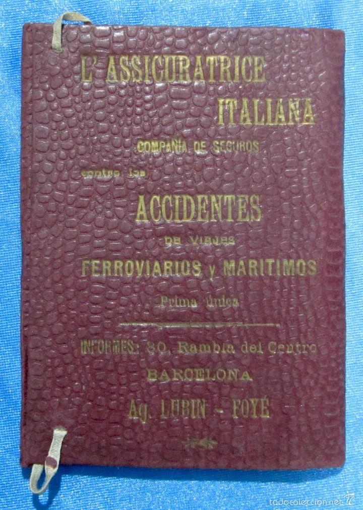 CARPETA DE VIAJE. LUBIN-FOYÉ. TICKET OFFICE. ALMACENES EL SIGLO. BARCELONA, AÑOS 10-15 (Coleccionismo - Folletos de Turismo)