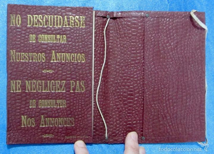 Folletos de turismo: CARPETA DE VIAJE. LUBIN-FOYÉ. TICKET OFFICE. ALMACENES EL SIGLO. BARCELONA, AÑOS 10-15 - Foto 3 - 58579592
