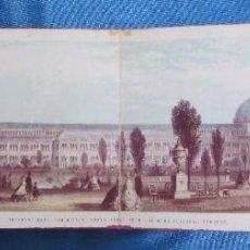 Folletos de turismo: INTERNATIONAL EXHIBITION 1862. GREAT LONDON EXPOSITION. LONDRES. CRYSTAL PALACE. DINOSAURIO. Lote 58583591