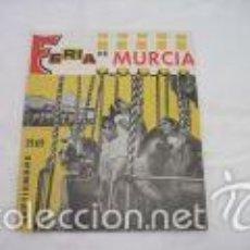 Folletos de turismo: PROGRAMA FERIA DE MURCIA AÑO 1969. Lote 58599473