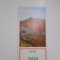 Folletos de turismo: FOLLETO DE NAVARRA. VALLE DE SALAZAR. TDK50. Lote 58620801