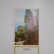 Folletos de turismo: FOLLETO DE NAVARRA. LAS AMESCOAS. TDK50. Lote 58620820