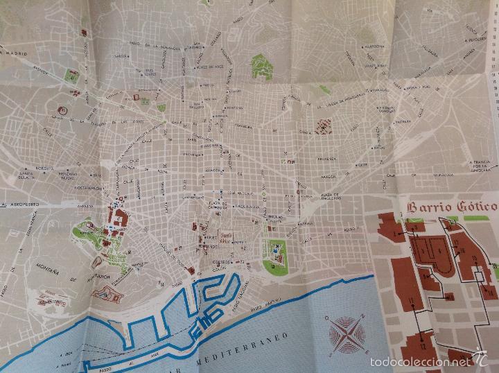 Folletos de turismo: Plano Guia de Barcelona - Foto 3 - 58652643