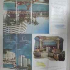 Brochures de tourisme: FOLLETO DE TURISMO. THE SAXONY. HOTEL. MIAMI BEACH. VER. Lote 168489962