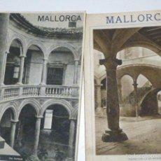 Folletos de turismo: LOTE DE FOLLETOS ANTIGUOS TURISMO PALMA DE MALLORCA . Lote 58674713