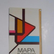 Folletos de turismo: MAPA TURISTICO DE CUBA. DESPLEGABLE. AÑOS 70-80. TDKP7. Lote 60917675