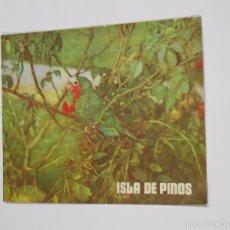 Folletos de turismo: ISLA DE PINO. CUBA. LA HABANA. 1971. TDKP7. Lote 60940303