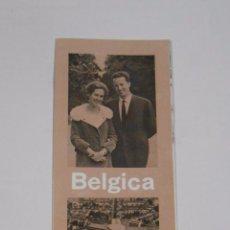Folletos de turismo: BELGICA. FOLLETO INFORMATIVO. AÑOS 70. TDKP7. Lote 60940395
