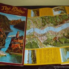 Folletos de turismo: THE RHINE. Lote 61069539