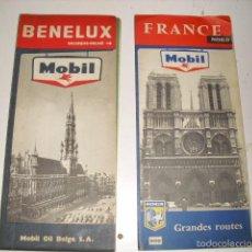 Folletos de turismo: FRANCE NORD Y BENELUX - 2 MAPAS. Lote 61218375
