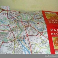 Folletos de turismo: PARIS ET SA BANLIEUE - CARTES TARIDE 1973. Lote 61249951