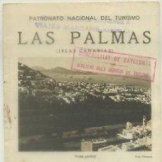 Brochures de tourisme: FOLLETO TURISTICO. LAS PALMAS. ISLAS CANARIAS A-FOTUR-0715. Lote 61388999