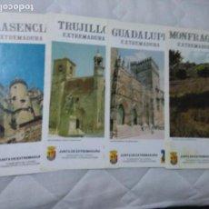 Folletos de turismo: LOTE DE 6 FOLLETOS TURISTICOS (JEREZ, EXTREMADURA Y FUERTEVENTURA). Lote 61797560