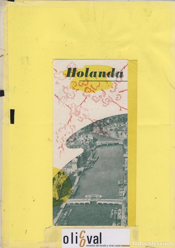 HOLANDA GUIA VISITANTE 6 PAG FT 147 (Coleccionismo - Folletos de Turismo)