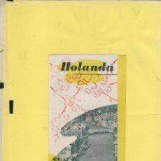 Folletos de turismo: HOLANDA GUIA VISITANTE 6 PAG FT 147. Lote 62041884