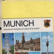 Folletos de turismo: ALEMANIA MUNICH GUIA Y RUTAS PLANO 32 PAG. 2008 FT 132. Lote 62058960