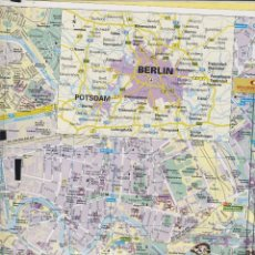 Folletos de turismo: ALEMANIA BERLIN GUIA Y RUTAS PLANO 24 PAG. 2008 FT 132. Lote 62059624