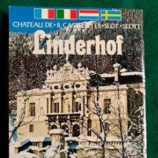 Folletos de turismo: CASTILLO DE LINDERHOF (BAVIERA) - 11,5 X 16,5 . Lote 62293828