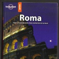 Folletos de turismo: ROMA - LONELY PLANET BIBLIOTECA METROPOLI - 257 PAGINAS - 20,5 X 13,5 - NUEVA . Lote 62294164