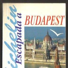 Folletos de turismo: BUDAPEST - GUIA TURISTICA MICHELIN - 128 PAGINAS - 16,5 X 11 - NUEVA. Lote 62299068