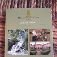 Folletos de turismo: PLANO MONASTERIO DE PIEDRA. Lote 62458396