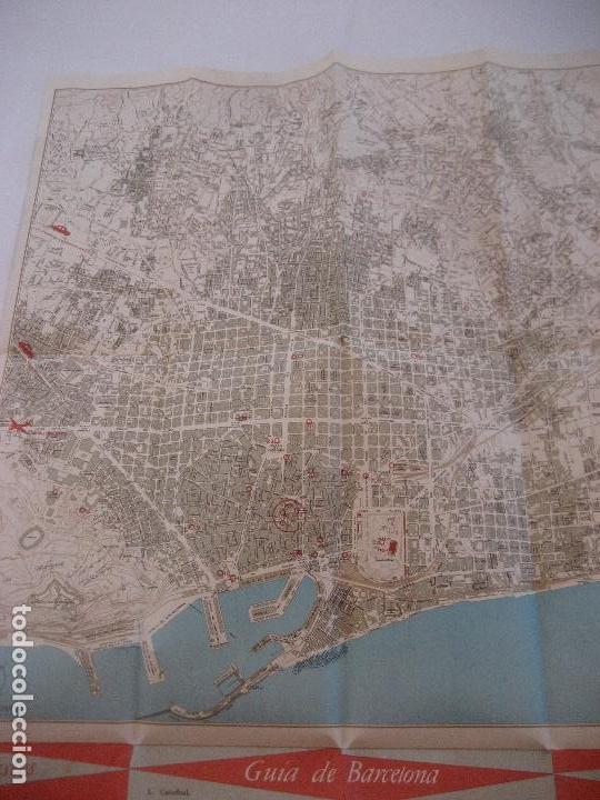 Barcelona mapa editado por la oficina municipa comprar for Oficina de turismo barcelona