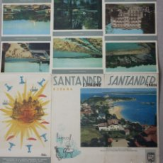 Folletos de turismo: FOLLETO TURISMO SANTANDER. AÑO 1959. FOURNIER. Lote 64703647