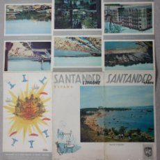 Folletos de turismo: FOLLETO TURISMO SANTANDER. AÑO 1959. FOURNIER. Lote 64703867