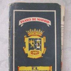 Folletos de turismo: ANTIGUO PLANO DE MADRID - EL FIRMAMENTO. Lote 64704839