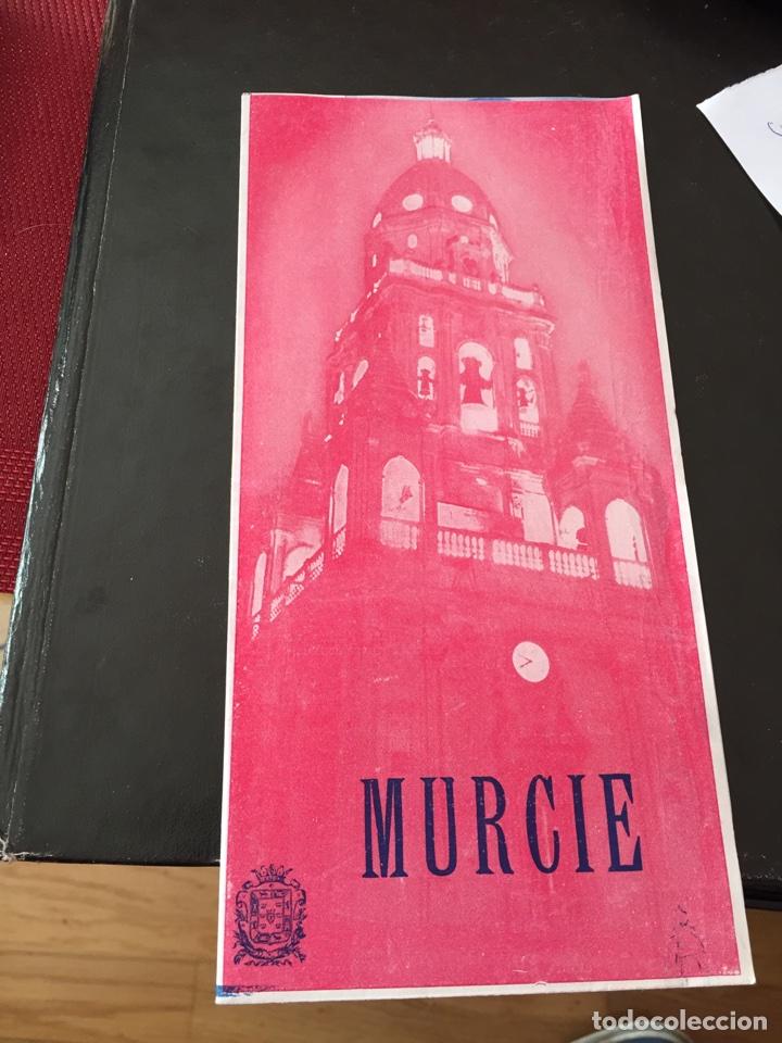 FOLLETO TURISMO DE MURCIA (Coleccionismo - Folletos de Turismo)