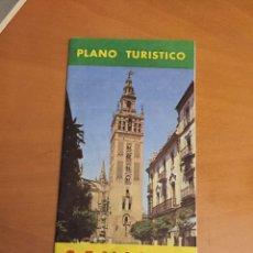 Folletos de turismo: PLANO TURÍSTICO DE SEVILLA. Lote 66256638