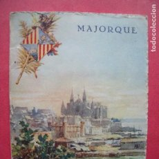 Folletos de turismo: MALLORCA.-MORELL.-TURISMO.-GUIA TURISTICA.-FOTOS EN COLOR SEPIA.. Lote 67283517