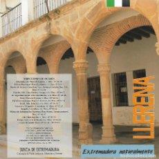 Folletos de turismo: LLERENA. BADAJOZ. EXTREMADURA.. Lote 67337937