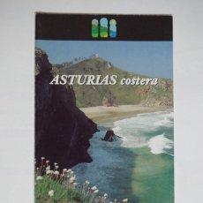Folletos de turismo: FOLLETO ASTURIAS COSTERA - PRINCIPADO DE ASTURIAS - 1995. Lote 67555489