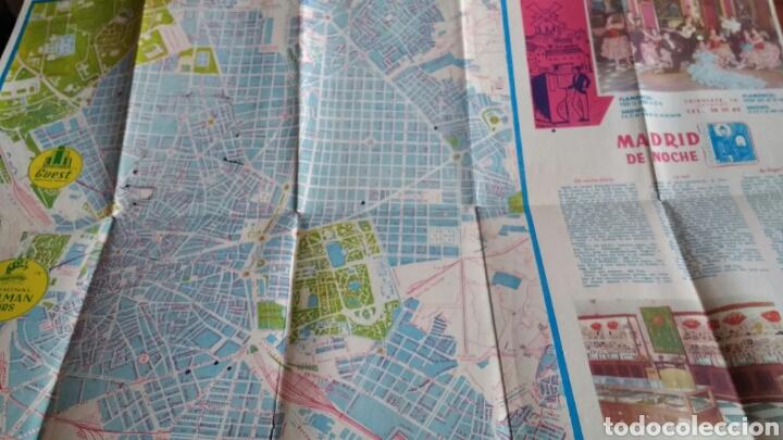 Folletos de turismo: ANTIGUO FOLLETO TURISTICO PULLMANTOURS - EXCURSIONES MADRID - 1960 - Foto 7 - 67588726
