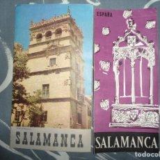 Folletos de turismo: LOTE ANTIGUOS FOLLETOS TURISMO SALAMANCA. Lote 68323561