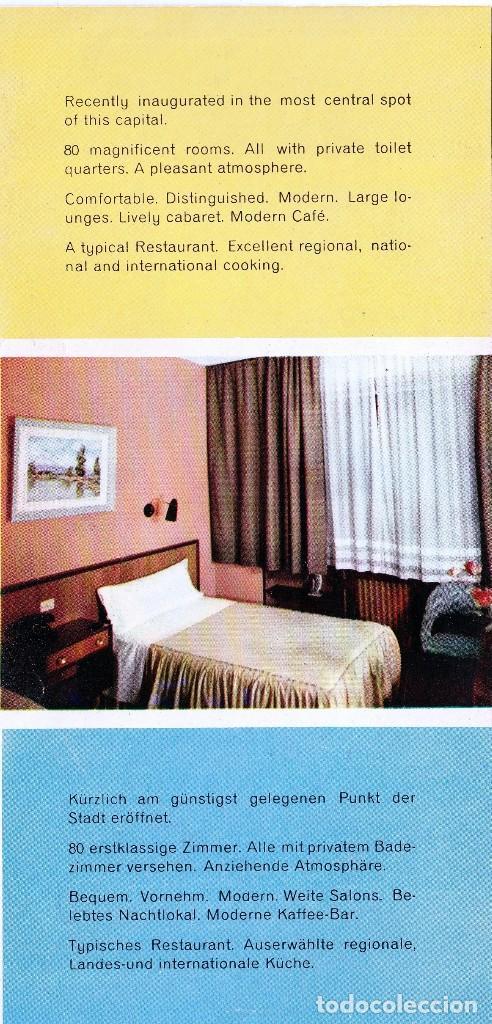 Folletos de turismo: 1963. MURCIA . FOLLETO PUBLICITARIO DEL HOTEL RESIDENCIA - RINCON DE PEPE -(4 FOTOS) - Foto 3 - 69360521