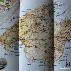 Folletos de turismo: LOTE FOLLETOS TURISTICOS MALLORCA. Lote 69894845