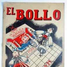 Brochures de tourisme: ANTIGUO PROGRAMA DE FIESTAS REVISTA EL BOLLO. AVILES. 1959. POEMAS EN ASTURIANO. ASTURIAS.. Lote 70149253