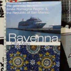 Folletos de turismo: PLANO DE RAVENA- ITALIA. ACTUAL. Lote 71071137