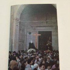 Folletos de turismo: ITINERARIO SEMANA SANTA ZAMORA 1990. Lote 71175414