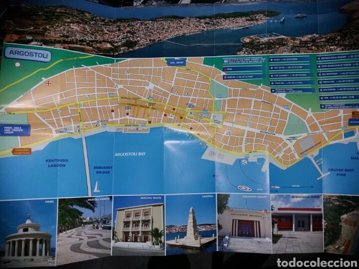 FOLLETO TURISMO ARGOSTOLI-KEFALONIA-GRECIA (Coleccionismo - Folletos de Turismo)