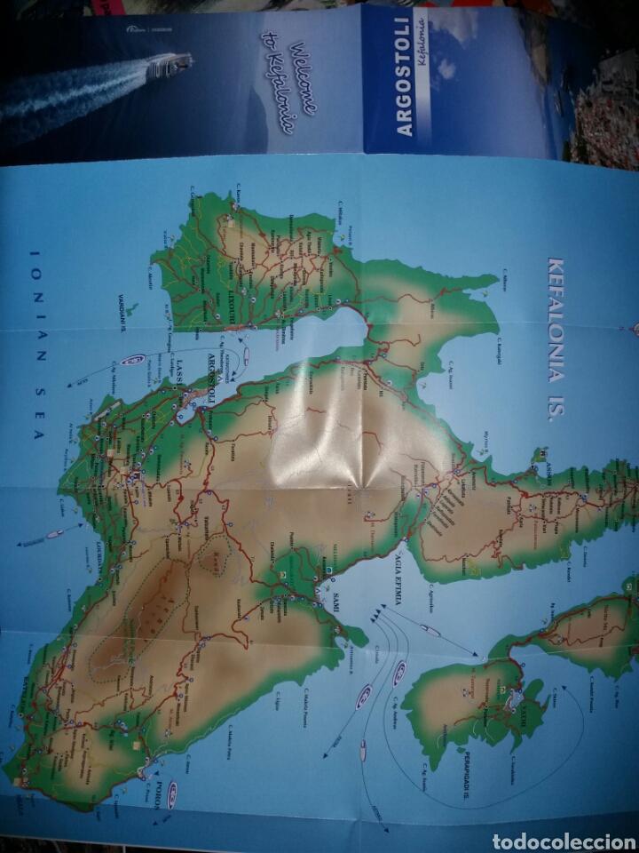 Folletos de turismo: Folleto turismo ARGOSTOLI-KEFALONIA-GRECIA - Foto 2 - 71357495
