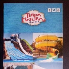 Folletos de turismo: FOLLETO TERRA NATURA MURCIA MAPA DESPLEGABLE. Lote 71564215