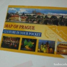 Folletos de turismo: PLANO CALLEJERO PRAGA. Lote 72169203