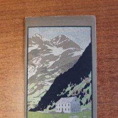 Folletos de turismo: ITINERARIS AL XALET-REFUGI DE LA ENCLUSA. CENTRE ESXCURSIONISTA DE CATALUNYA 1918. OLIVA DE VILANOVA. Lote 72720667