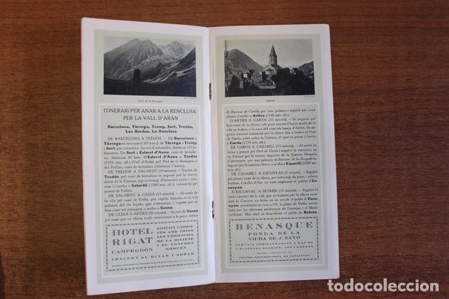 Folletos de turismo: ITINERARIS AL XALET-REFUGI DE LA ENCLUSA. CENTRE ESXCURSIONISTA DE CATALUNYA 1918. oliva de vilanova - Foto 3 - 72720667