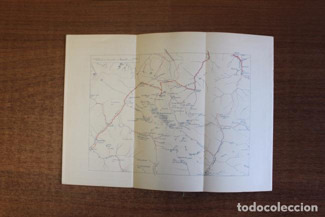 Folletos de turismo: ITINERARIS AL XALET-REFUGI DE LA ENCLUSA. CENTRE ESXCURSIONISTA DE CATALUNYA 1918. oliva de vilanova - Foto 4 - 72720667